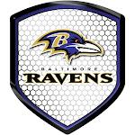 Baltimore Ravens Shield Style Reflector