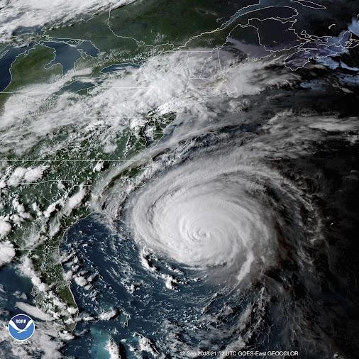 The #Economic #Impact of Hurricane Florence [Video]