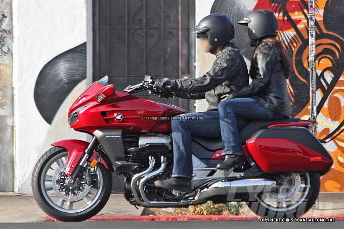 Honda CTX1300 Spied