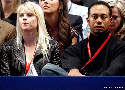 tiger woods wife and kids. Tiger and wife in counseling