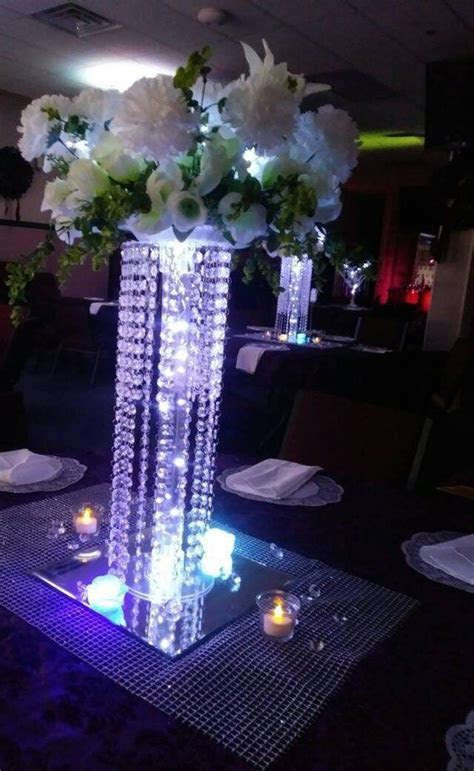 6 Set Chandelier Centerpieces for wedding/Tabletop