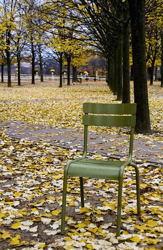 Autumnal chair