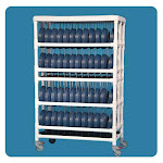 IPU Dietary Dome Cart Holds 96 Dome Lids
