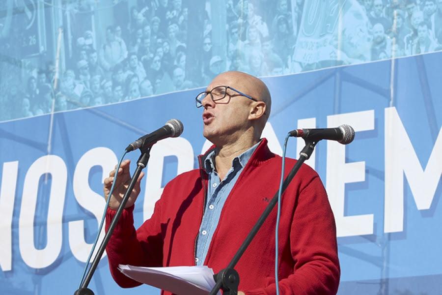 """Jorge Bermúdez (FUS): """"No nos quedaremos de brazos cruzados"""""""