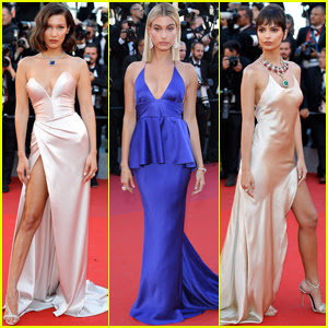 Bella Hadid, Hailey Baldwin & Emily Ratajkowski Shine at Cannes Opening Night 2017