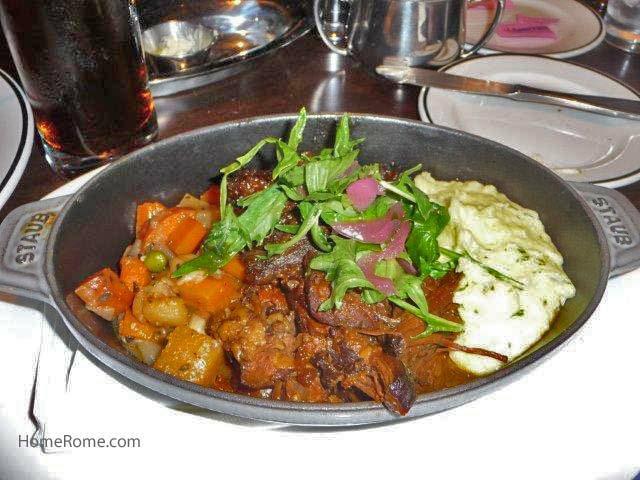 Pot Roast and mashed potatoes