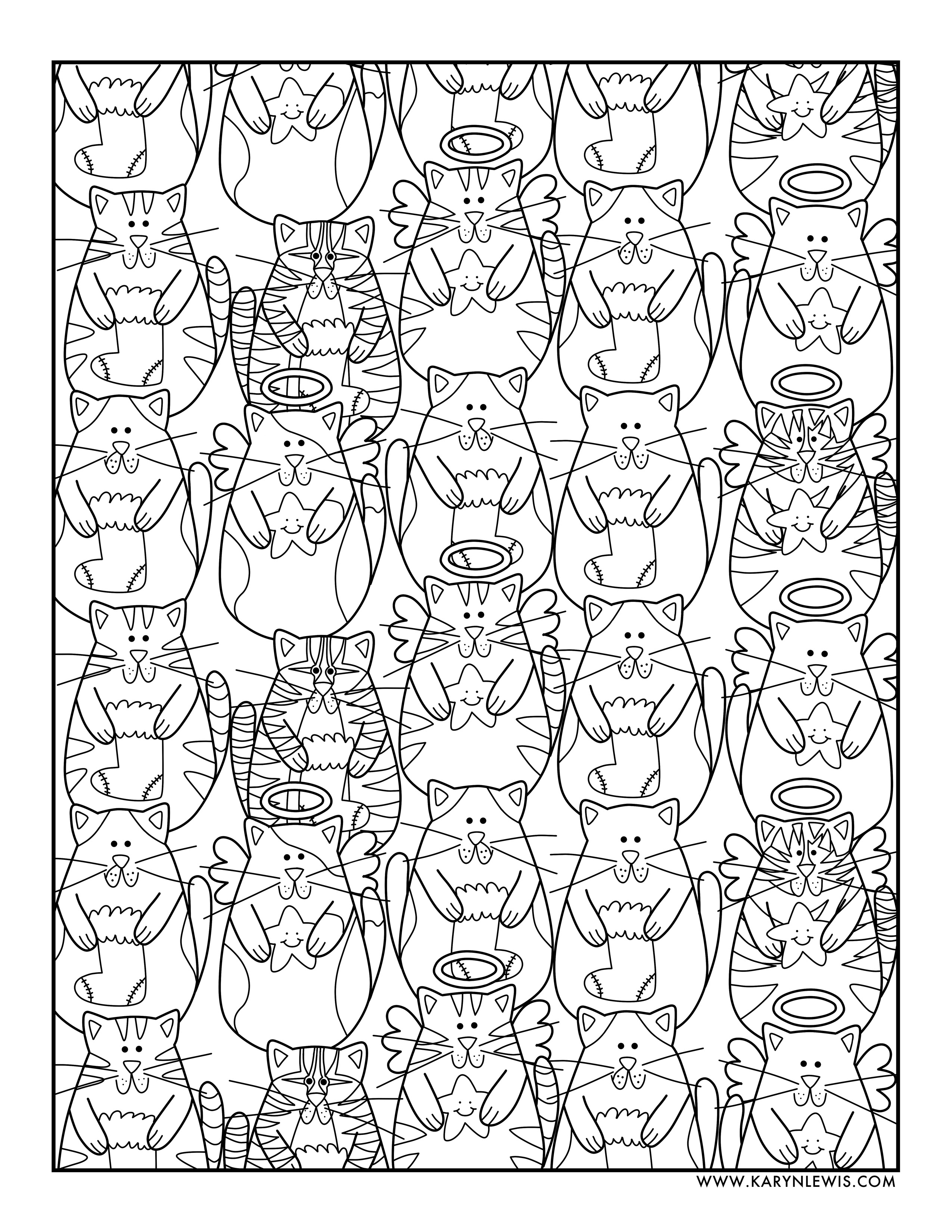80 Christmas Coloring Pages No Download Pictures