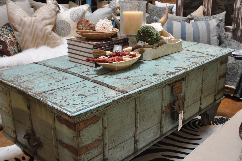 Vintage One Of A Kind Coffee Table Bungalow Furniture Accessories