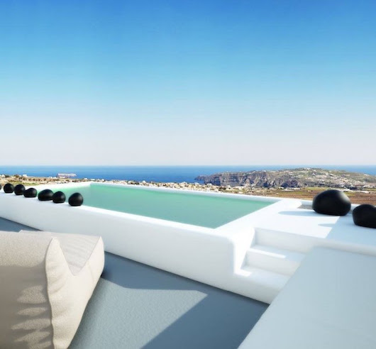 NEW Hotel of 8 Luxury Villas with Private Pools in Santorini, Fira, Pyrgos