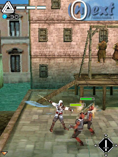 Assassin s creed 2 mobile game 320x240 2 player matrix fighting game