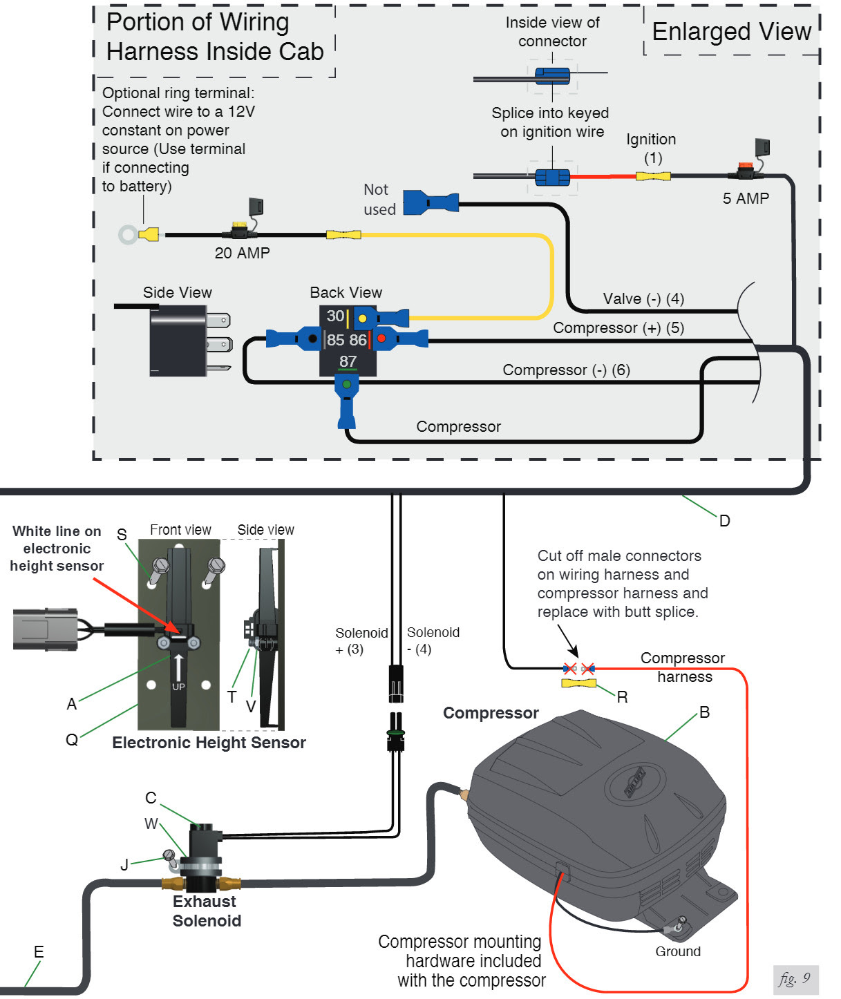 Air Lift Wiring Diagram