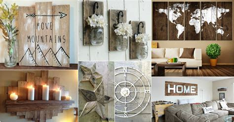 rustic wall art ideas  spice   atmosphere