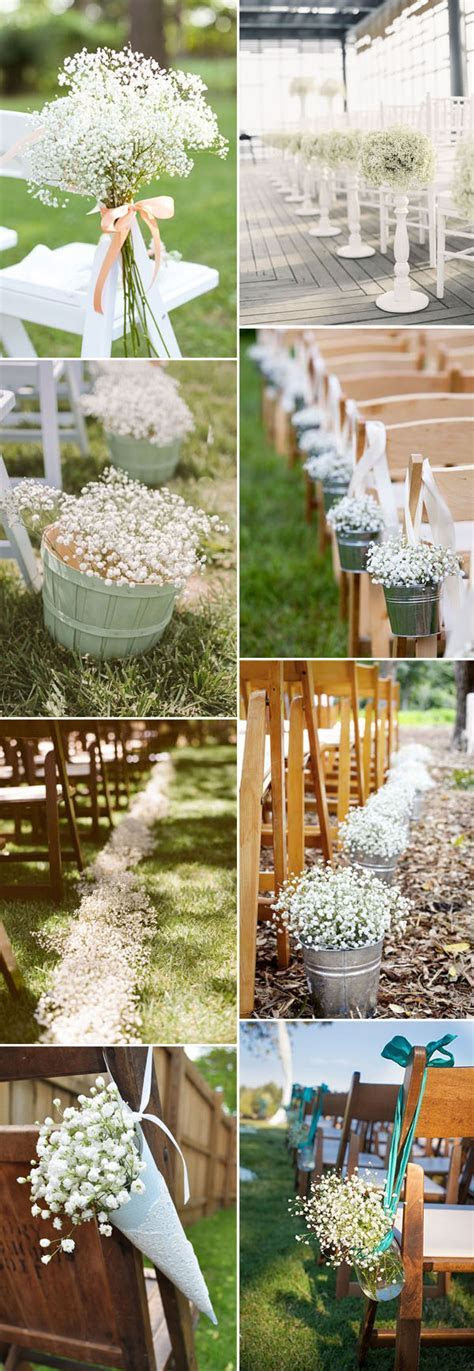 Save Your Budget on Weddings with 45 Baby?s Breath Ideas