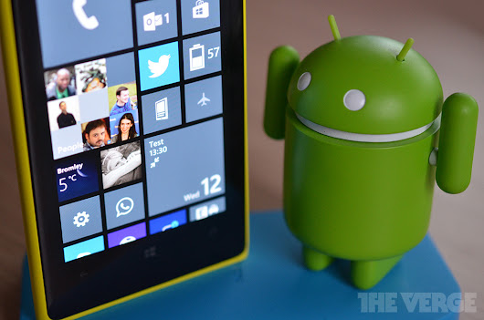 Strange bedfellows: Microsoft could bring Android apps to Windows