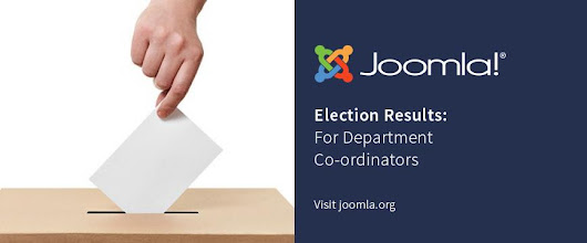 Joomla! Department Coordinator Election Results
