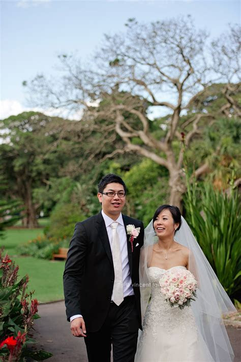 Sydney Royal Botanical Gardens Wedding   Zilver Chinese