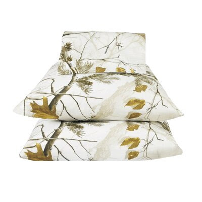 Realtree Camo Sheet Set in Pink | Wayfair