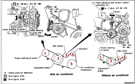 2000 Nissan Maxima Power Steering Pump ~ Perfect Nissan