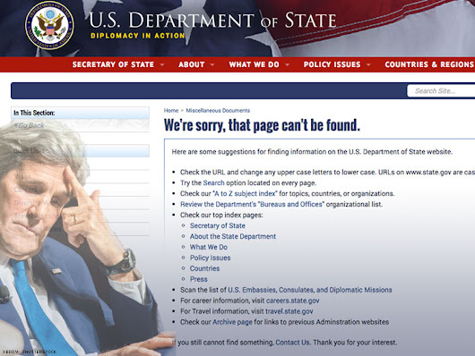 State Dept.'s Lavender Scare Apology Removed From Website