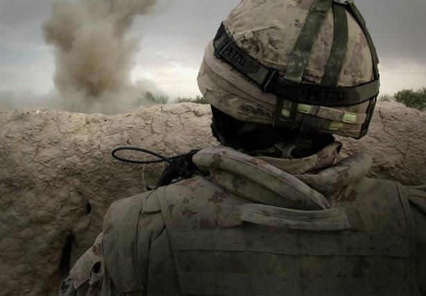 De nombreux soldats des Forces armées canadiennesont été... (ARCHIVES REUTERS)