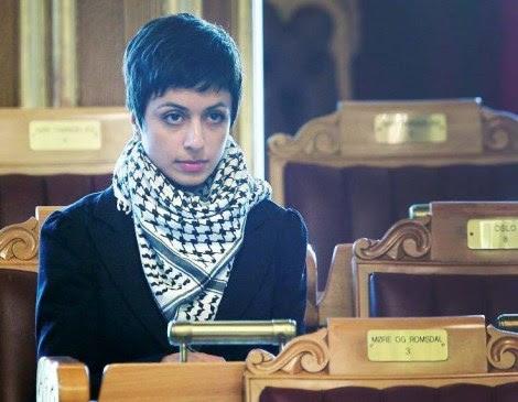 Hadija Tajick is a known Norwegian supporter of Islamic terrorism against Israel.