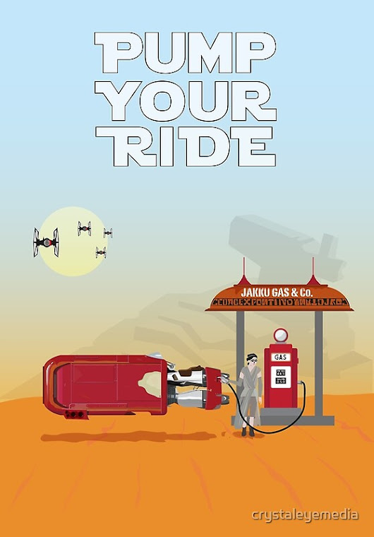 Pump Your Ride - Jakku Gas Station by crystaleyemedia
