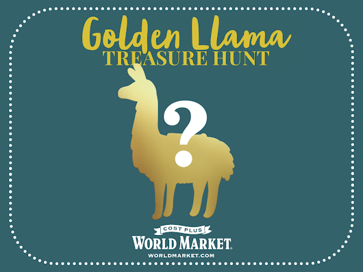 No Drama Grab a Llama this Holiday Season at Cost Plus World Market