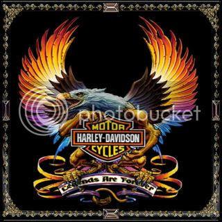 Harley Davidson Tattoos on Tattoos   Tattoo Designs  Full Color Eagle Harley Davidson Tattoo