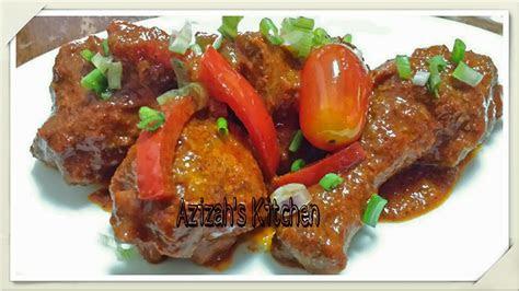 cute mama delicacies ayam masak merah