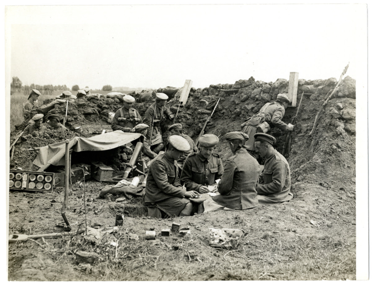 Living in the Trenches of WW1 | hubpages