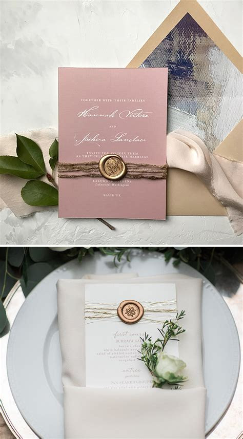 DIY Wedding Ideas: How to Enhance Your Invitations with