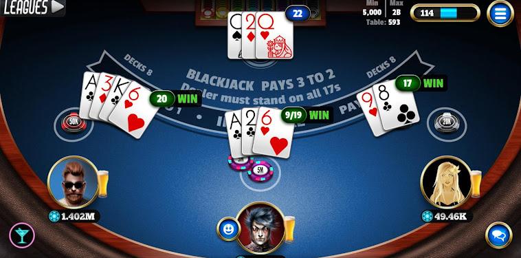 Blackjack 21 Card Game Online