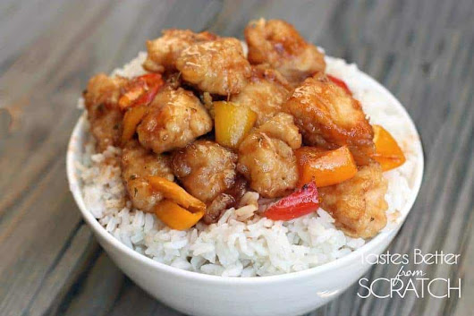 Sweet and Sour Chicken | Tastes Better From Scratch