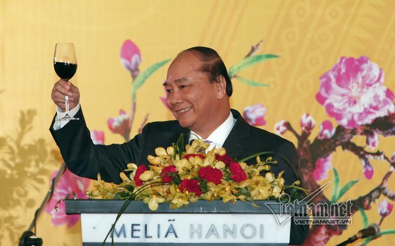 Tiệc xuân ấm cúng của Thủ tướng với đoàn ngoại giao