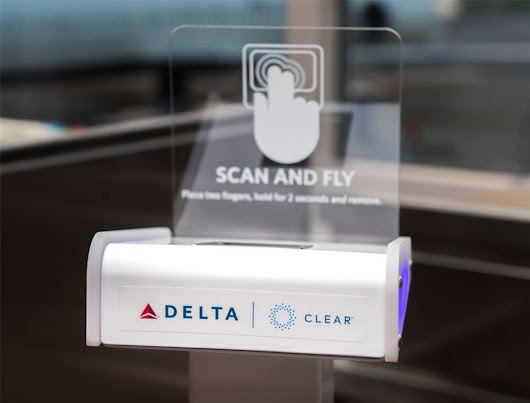 With Delta Air Lines, You Can Use Your Fingerprint As Your Boarding Pass