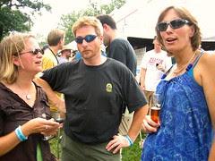 Huh? Oh yeah? Beer!
