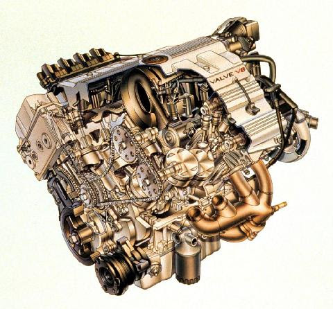Cadillac Northstar Engine1 (1998) - Picture Gallery ...