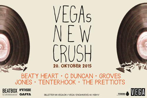 Vega's New Crush, Copenhagen, Denmark