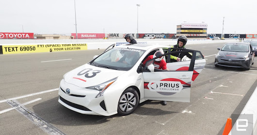 Toyota put on a race to find the most-efficient drivers