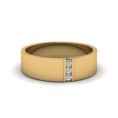 Find 18k Yellow Gold Wedding Bands For Men  Fascinating