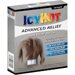 Icy Hot Advanced Relief Pain Relief Patch - 5 patches