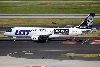 LOT Polish Airlines Embraer ERJ 170-200LR (ERJ 175) SP-LIN (msn 17000313) (Mike Tyson-The Original Premium Black Energy) DUS (TMK Photography). Image: 913258.