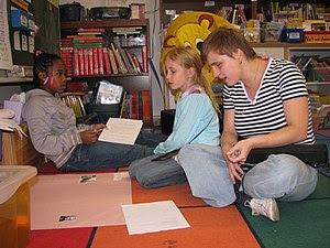 Patrick Henry Elementary School student teache...