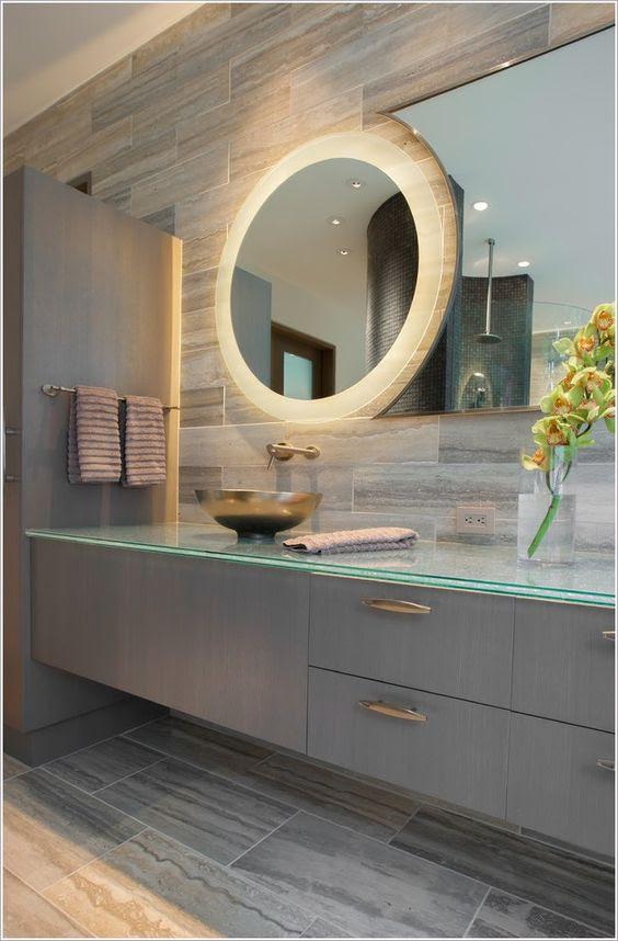 Mesmerizing Backlit Mirror Designs For The Modern Bathroom