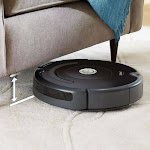 iRobot - Roomba 675 Wi-Fi Connected Robot Vacuum - Black