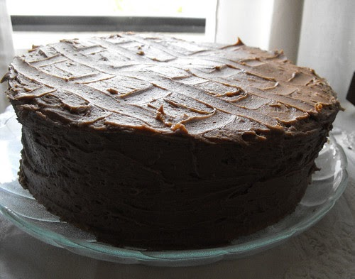 Low Fat Chocolate Cake Recipes From Scratch: Full Bellies, Happy Kids: Quick Yellow Cake And Chocolate