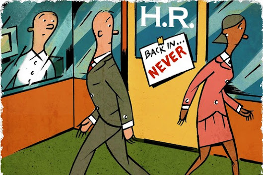 Sometimes the only thing worse than having an HR department is not having one