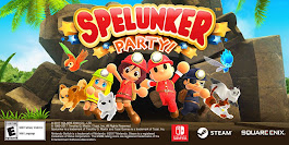 Spelunker Party Coming To Nintendo Switch On October 19th