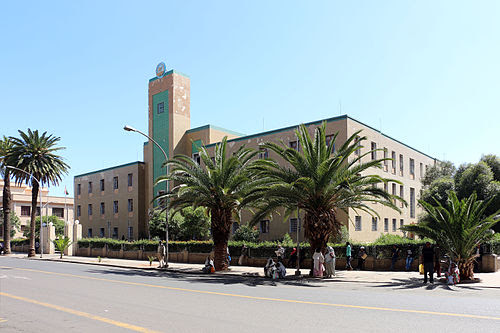 """Governor's Palace"", now City Hall of Asmara"