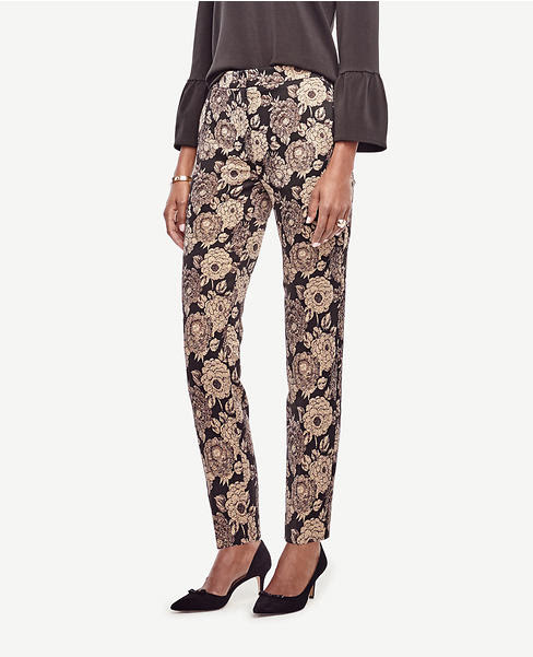 Primary Image of Gilded Blossom Ankle Pants